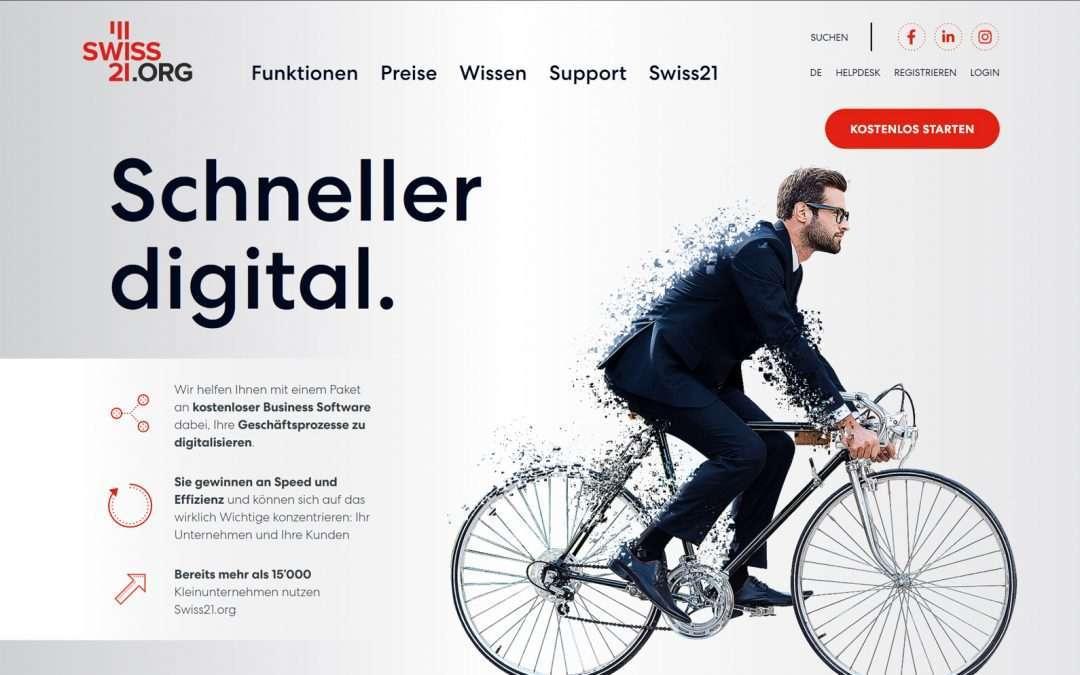 Fasoon neuer Partner von Swiss21.org für die Unternehmensgründung