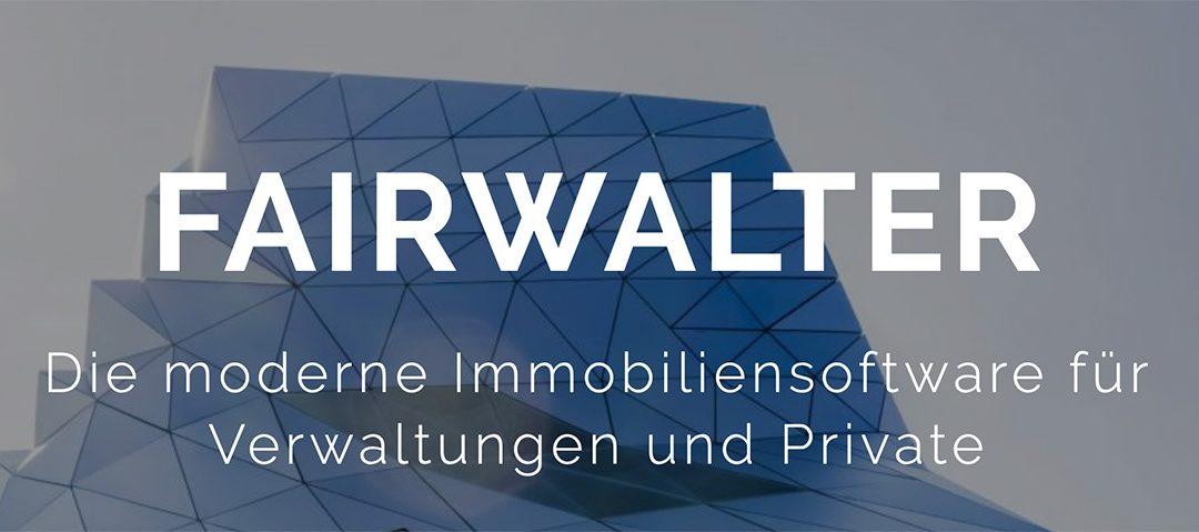 Fairwalter, die moderne und faire Immobiliensoftware