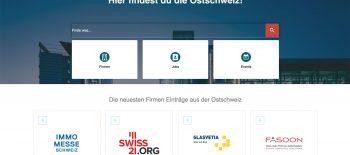 ostfinder.ch vernetzt die Ostschweiz: Firmen, Jobs und Events