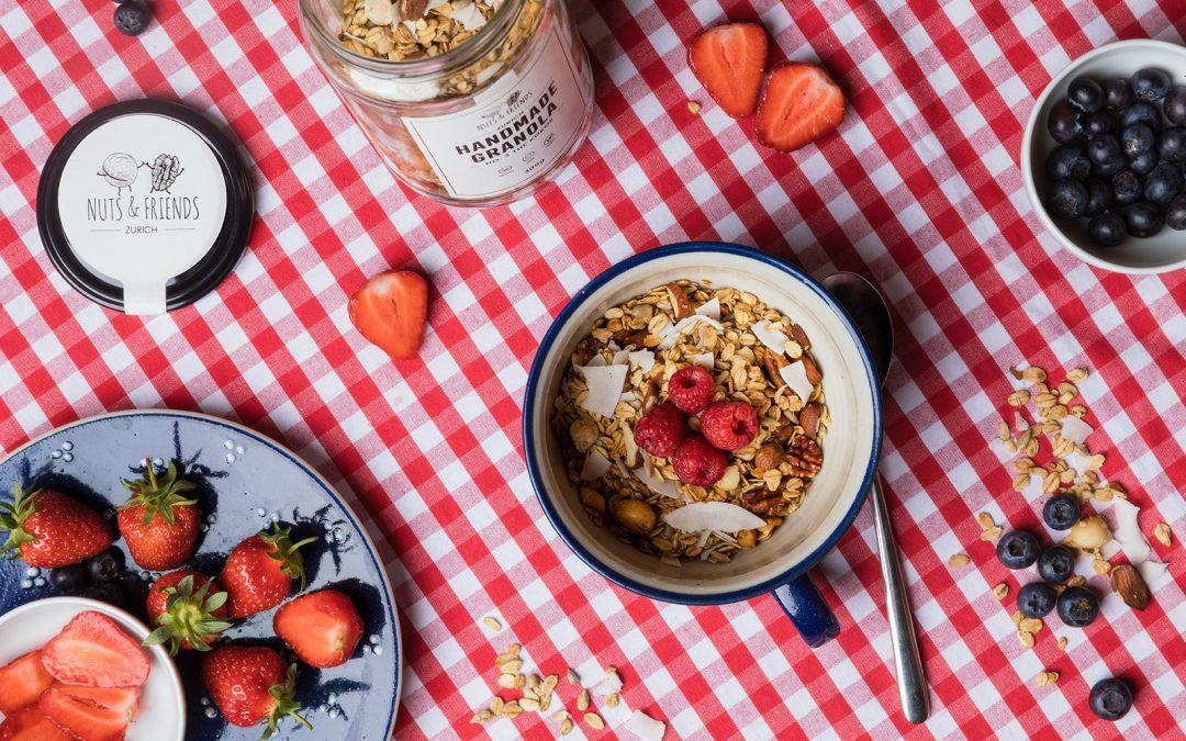 Nuts and Friends: Köstliches Bio-Granola